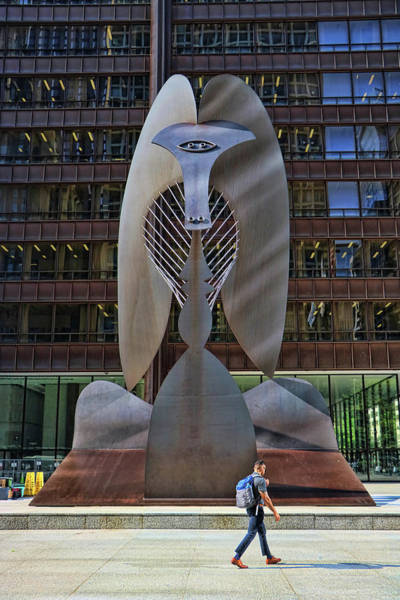 Photograph - Untitled Picasso - Chicago by Allen Beatty