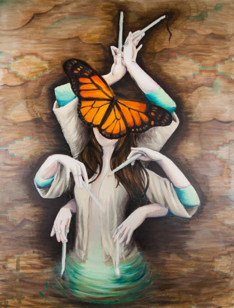 Wall Art - Painting - Transformation by Stephanie Seker