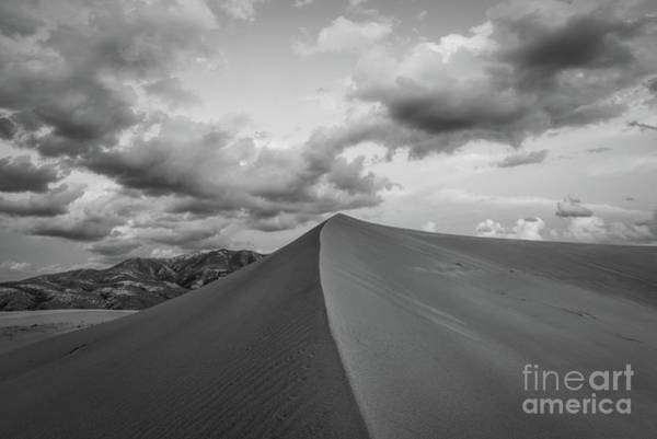 Great Sand Dunes National Park Photograph - Untouched Bw by Michael Ver Sprill