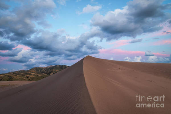 Great Sand Dunes National Park Photograph - Untouched  by Michael Ver Sprill