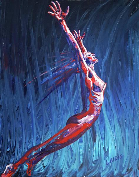 Unafraid Painting - Untrammelled by Aarron Laidig
