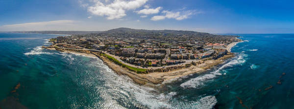 Photograph - Up At La Jolla by Scott Campbell