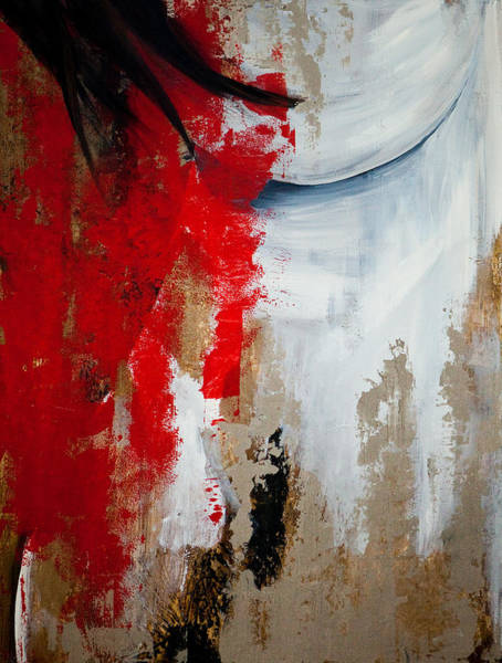 Abstract People Painting - Up Close by Brad Jensen
