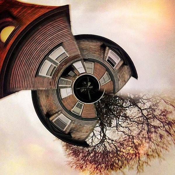 Surrealism Photograph - Up In A Tower With Nothing To See by Amy DiPasquale