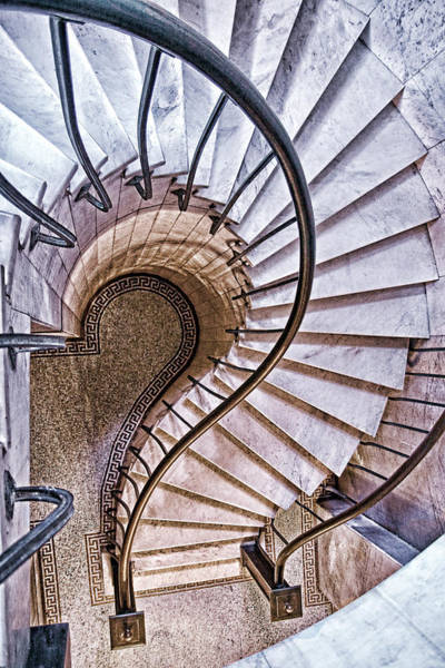Stairs Wall Art - Photograph - Up Or Down? by Tom Mc Nemar