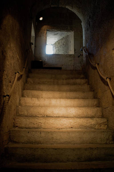 Photograph - Up The Ancient Stairs by Lorraine Devon Wilke