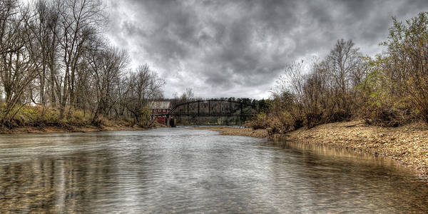 Photograph - Up The Creek by Joe Sparks