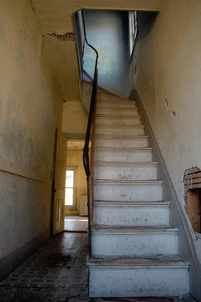 Photograph - Up The Stairs by Teresa Wilson