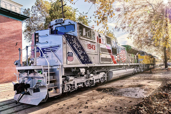 Photograph - Up1943 Spirit Of The Union Pacific 09 by Jim Thompson