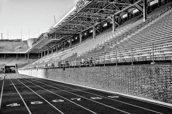 Wall Art - Photograph - Upenn - Franklin Field In Black And White by Bill Cannon