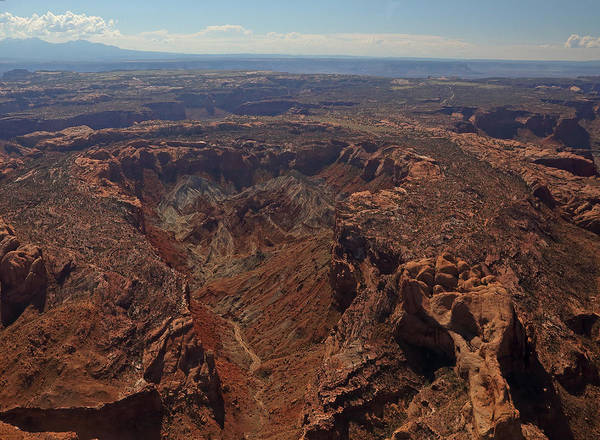 Photograph - Upheaval Dome In Canyonlands National Park by Jean Clark