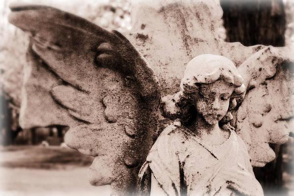 Upon Angel's Wings Art Print