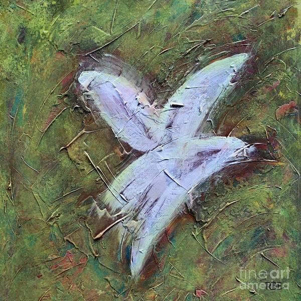 Painting - Upon Angels Wings by Rosetta Elsner ARTist