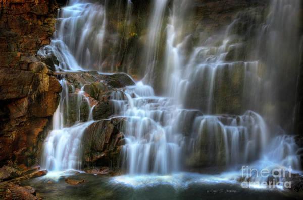 Photograph - Upper Beartooth Falls by Craig J Satterlee
