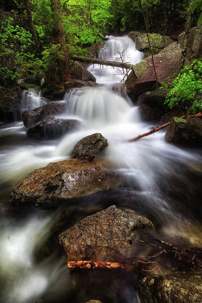 Photograph - Upper Beede Falls IIi by Robert Clifford