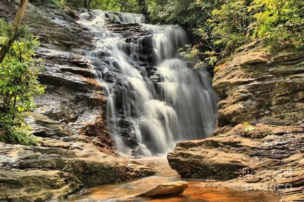 Photograph - Upper Cascade Falls by Adam Jewell