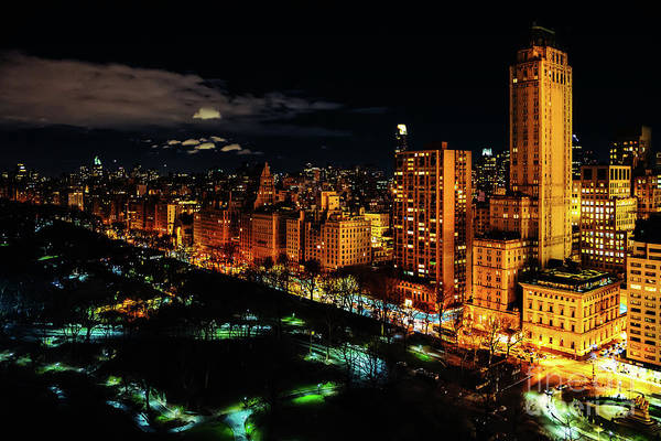 Photograph - Upper East Side At Night by M G Whittingham