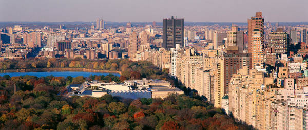 Rise Above Wall Art - Photograph - Upper East Side Central Park New York by Panoramic Images