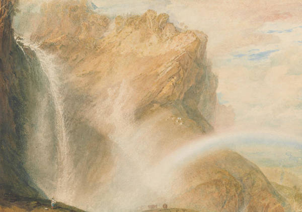 Painting - Upper Fall Of The Reichenbach- Rainbow by Joseph Mallord William Turner