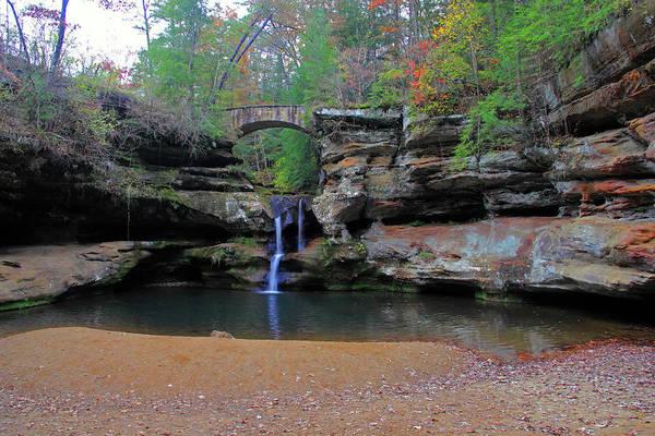 Photograph - Upper Falls In Autumn by Angela Murdock