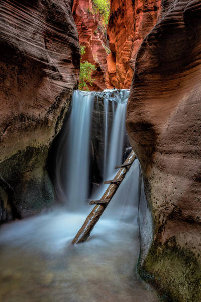 Photograph - Upper Kanarraville Falls by Michael Ash