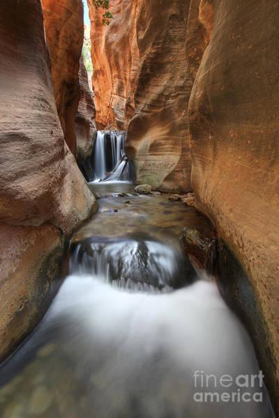 Photograph - Upper Kannara Creek Falls by Spencer Baugh