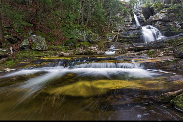 Photograph - Upper Kent Falls 2018 by Bill Wakeley