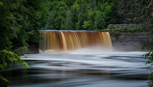 Photograph - Upper Tahquamenon Falls by James Howe