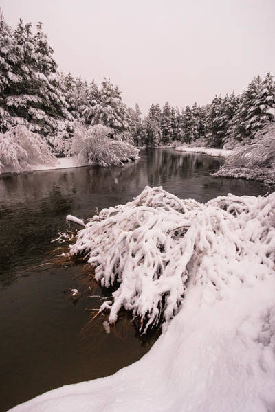 Wall Art - Photograph - Upper Truckee River Spring Snow Flow by Mike Herron