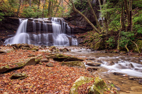 Photograph - Upper Waterfalls Of Holly River by Andy Crawford