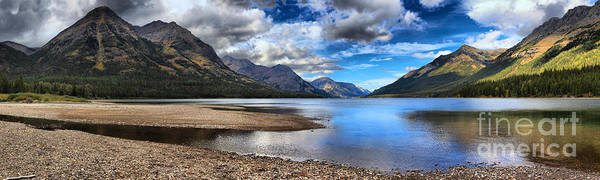 Photograph - Upper Waterton Lake From Goat Haunt by Adam Jewell