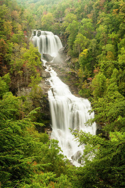 Upper Whitewater Falls Art Print