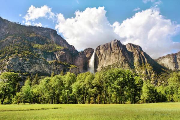 Photograph - Upper Yosemite Fall by Brian Tada