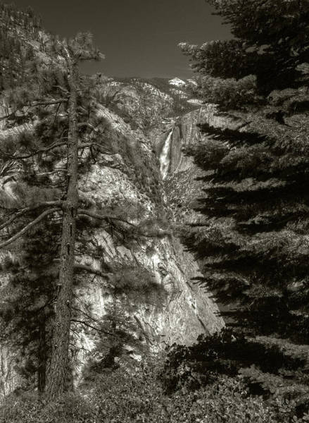 Photograph - Upper Yosemite Falls From Panorama Trail by Michael Kirk