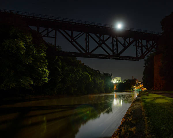 Photograph - Upside-down Moonlight by Chris Bordeleau