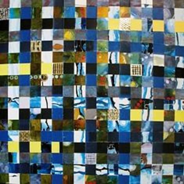 Wall Art - Painting - Upside Down by Mounir Lakkis