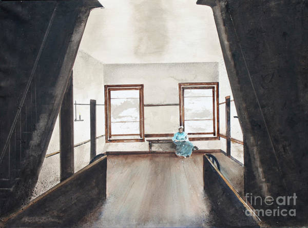 Painting - Upstairs by Monte Toon