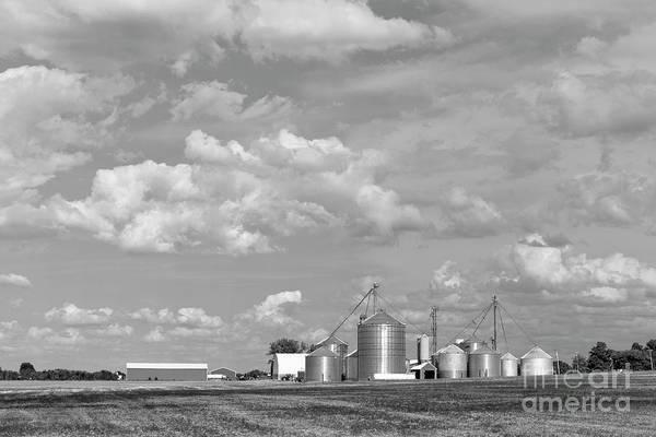 Photograph - Upstate New York Farm by Edward Fielding