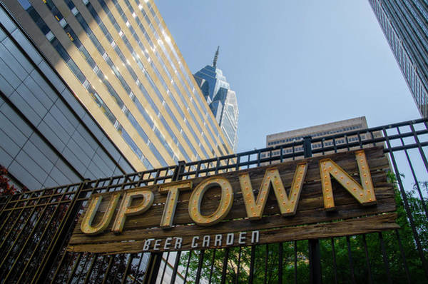 Photograph - Uptown Beer Garden - Philadelphia by Bill Cannon