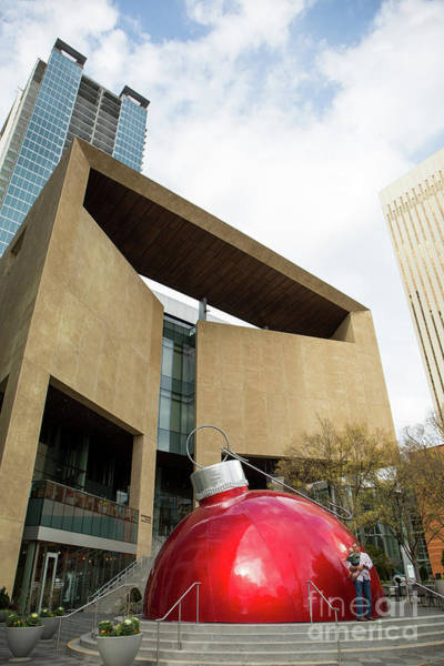 Photograph - Uptown Mint Museum At Christmas by Kevin McCarthy