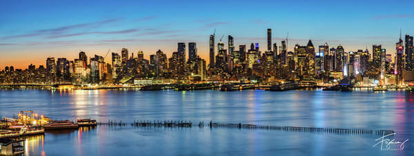 Photograph - Uptown Skyline At Sunrise by Francisco Gomez
