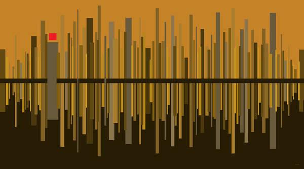 Digital Art - Uptown by Val Arie