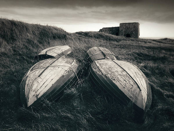Wall Art - Photograph - Upturned Boats by Dave Bowman