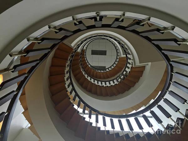 Photograph - Upward Spiral Into Monochrome by Rick Locke