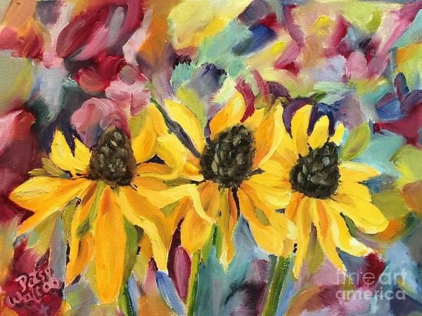 Painting - Upward To The Heavens by Patsy Walton