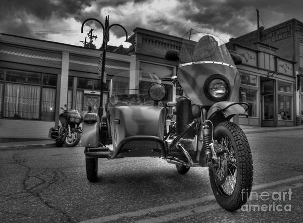 Street Machine Photograph - Ural - Bw by Tony Baca