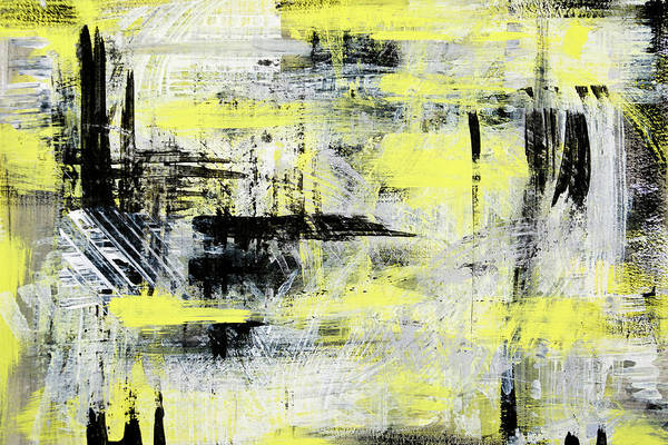 Mixed Media - Urban Abstract by Christina Rollo