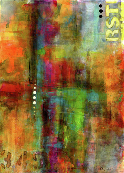 Painting - Urban Abstract Color 1 by Patricia Lintner