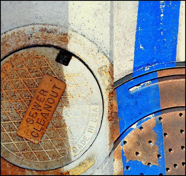 Photograph - Urban Abstracts Compilations 4 by Marlene Burns