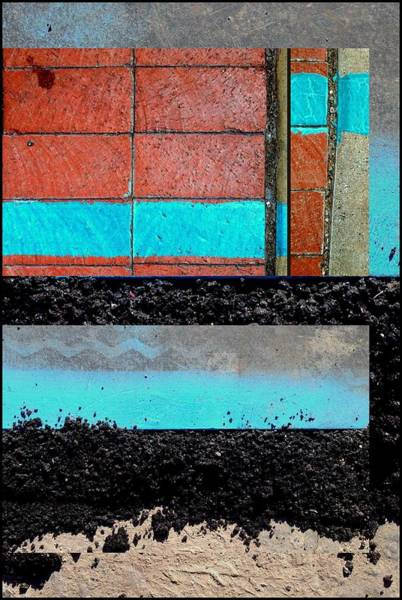 Photograph - Urban Abstracts Seeing Double 15 by Marlene Burns